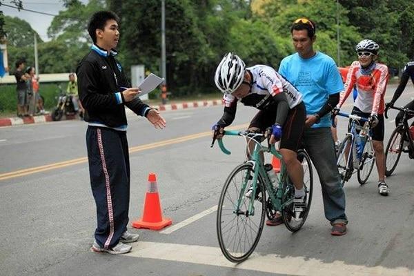 วิธีปั่นจักรยาน