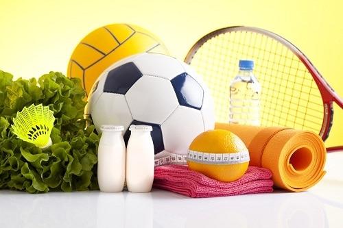 อาหารของนักกีฬา