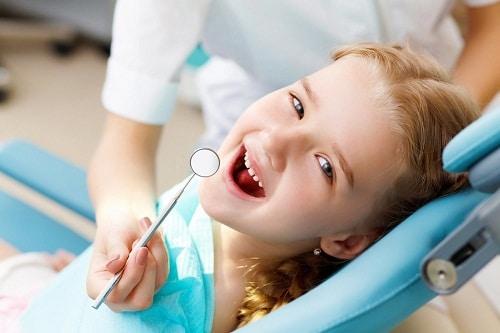 การดูแลฟันเด็ก