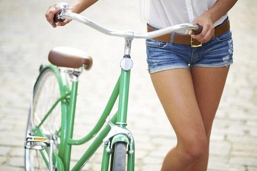 ปั่นจักรยานลดต้นขา
