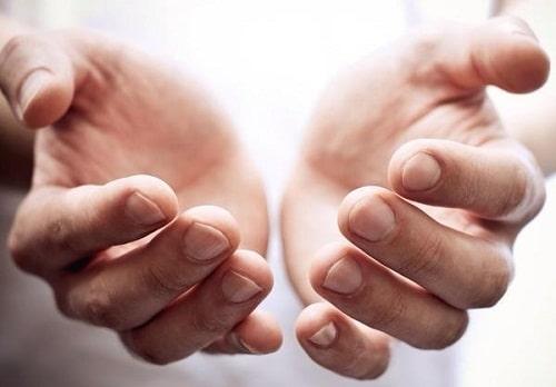 มือบอกโรค
