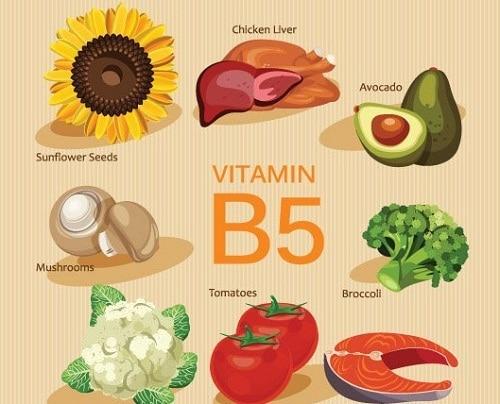 ประโยชน์ของวิตามินบี5-Vitamin B5