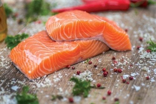 ประโยชน์ของปลาแซลมอน