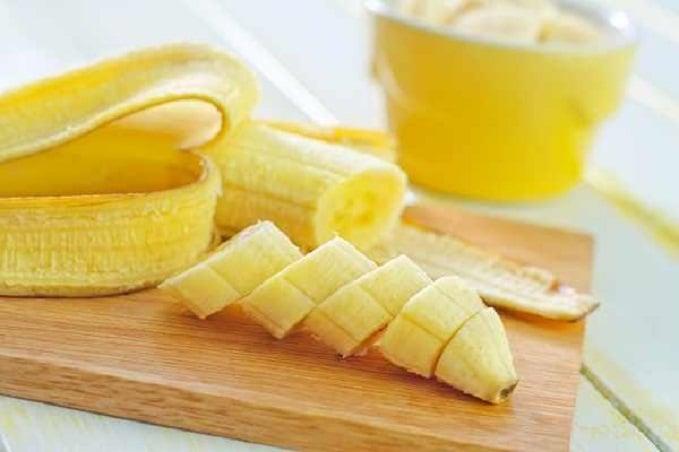 พอกหน้าขาวด้วยกล้วยหอม