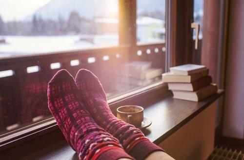 สวมถุงเท้าก่อนนอน