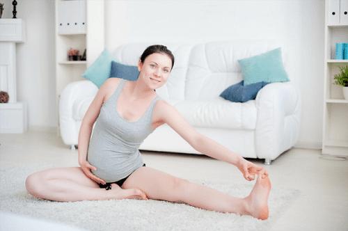 คนท้องออกกำลังกาย