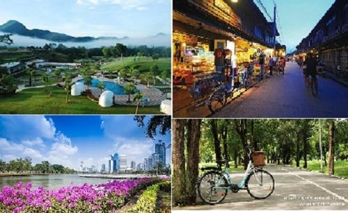 สถานที่ปั่นจักรยานสวยๆ