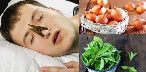 สมุนไพรรักษาอาการนอนกรน