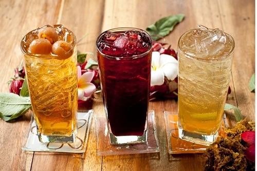 น้ำดื่มสมุนไพร ฤทธิ์เย็น แก้ร้อนใน ช่วยคลายร้อน