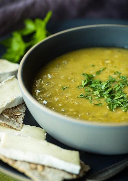 ซุปถั่วลันเตา