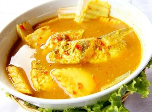 แกงเหลือง-อาหารกลางวันลดน้ำหนัก