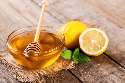 ลดรอยสิวด้วยมะนาว น้ำผึ้ง